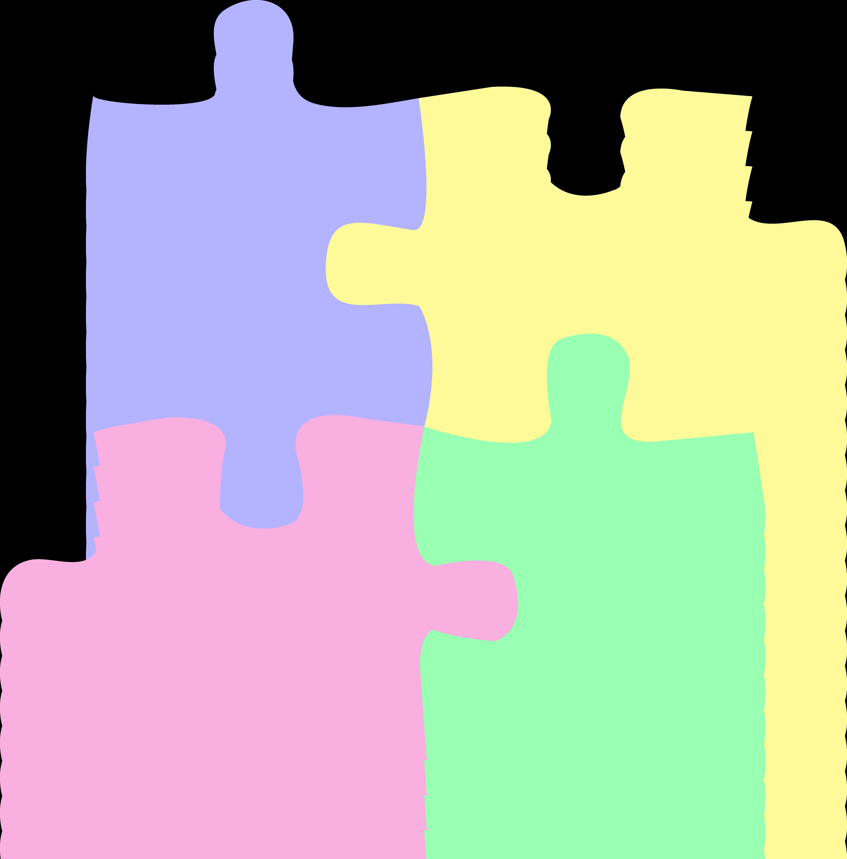 logo children or autism puzzle pastel clip art sweet clip art rh m sweetclipart com autism clip art free border autism clipart images