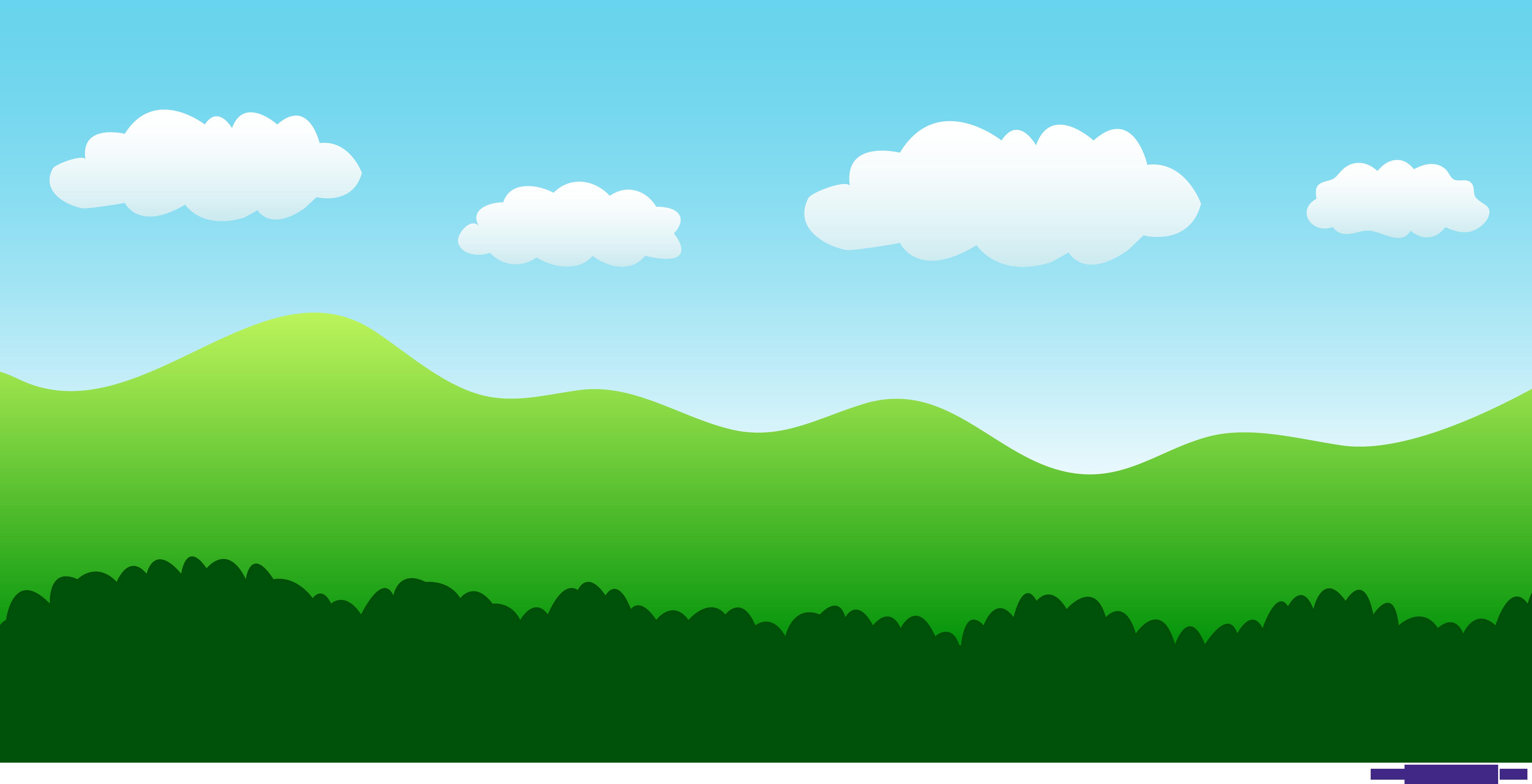 nature settings simple landscape 1 clipart