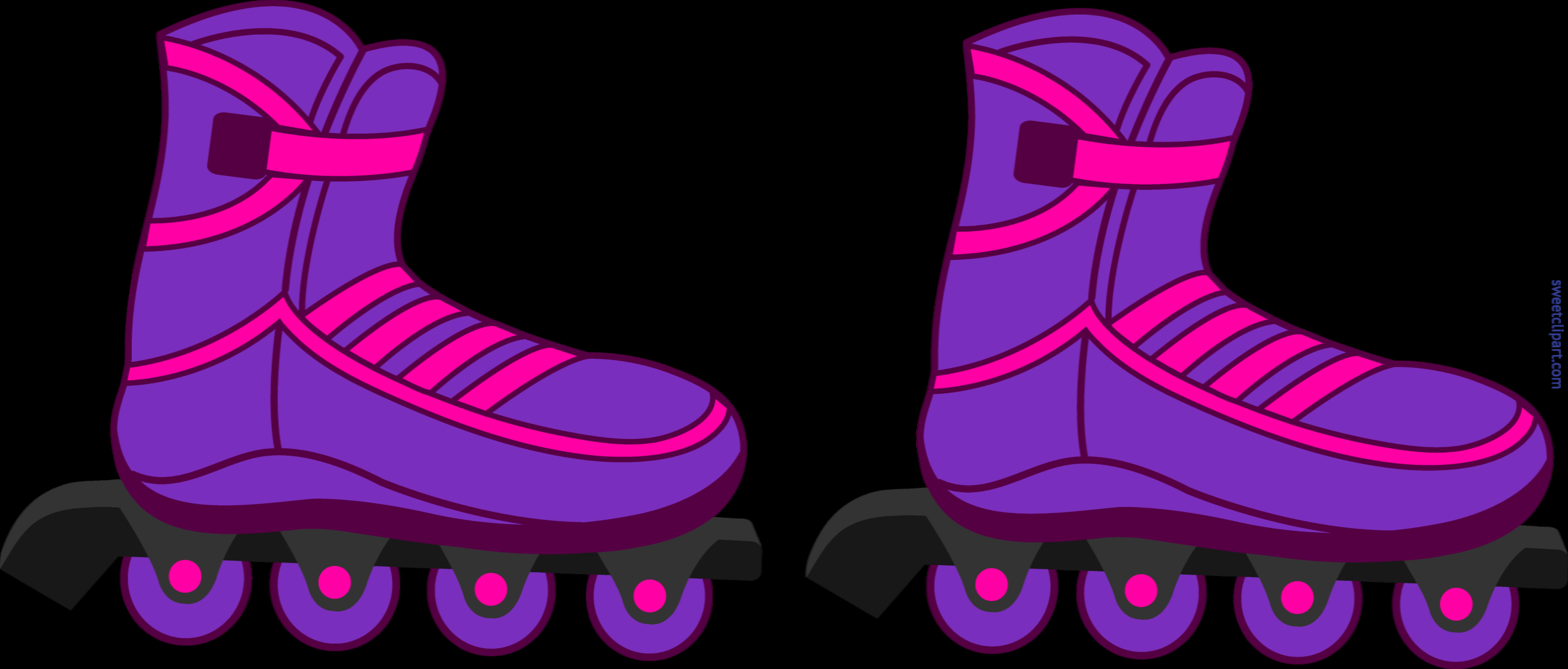 rollerblades purple clip art sweet clip art rh m sweetclipart com roller skate clip art websites roller skates clipart images