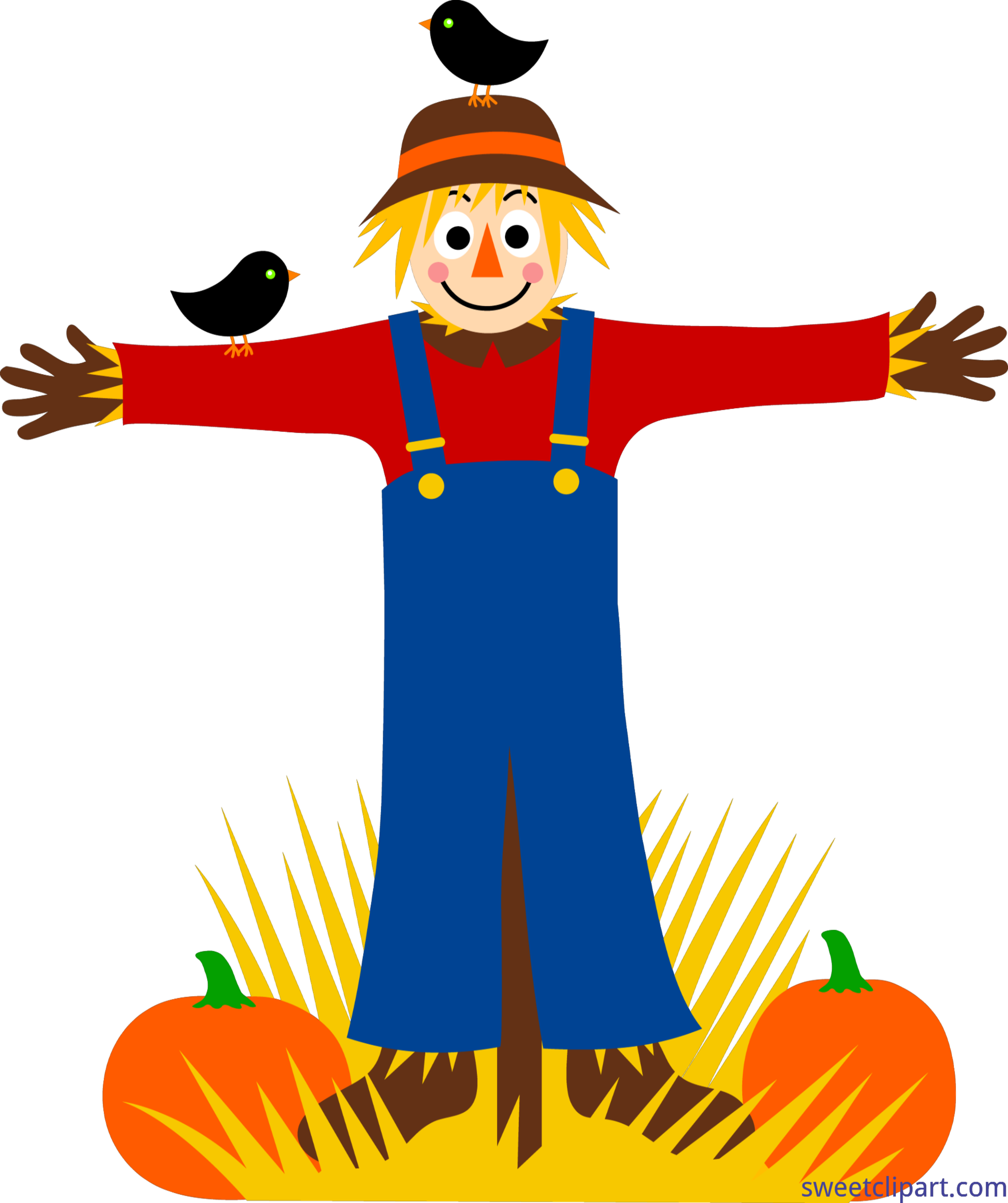 scarecrow and crows clip art sweet clip art rh m sweetclipart com scarecrow clipart png clipart scarecrow black and white