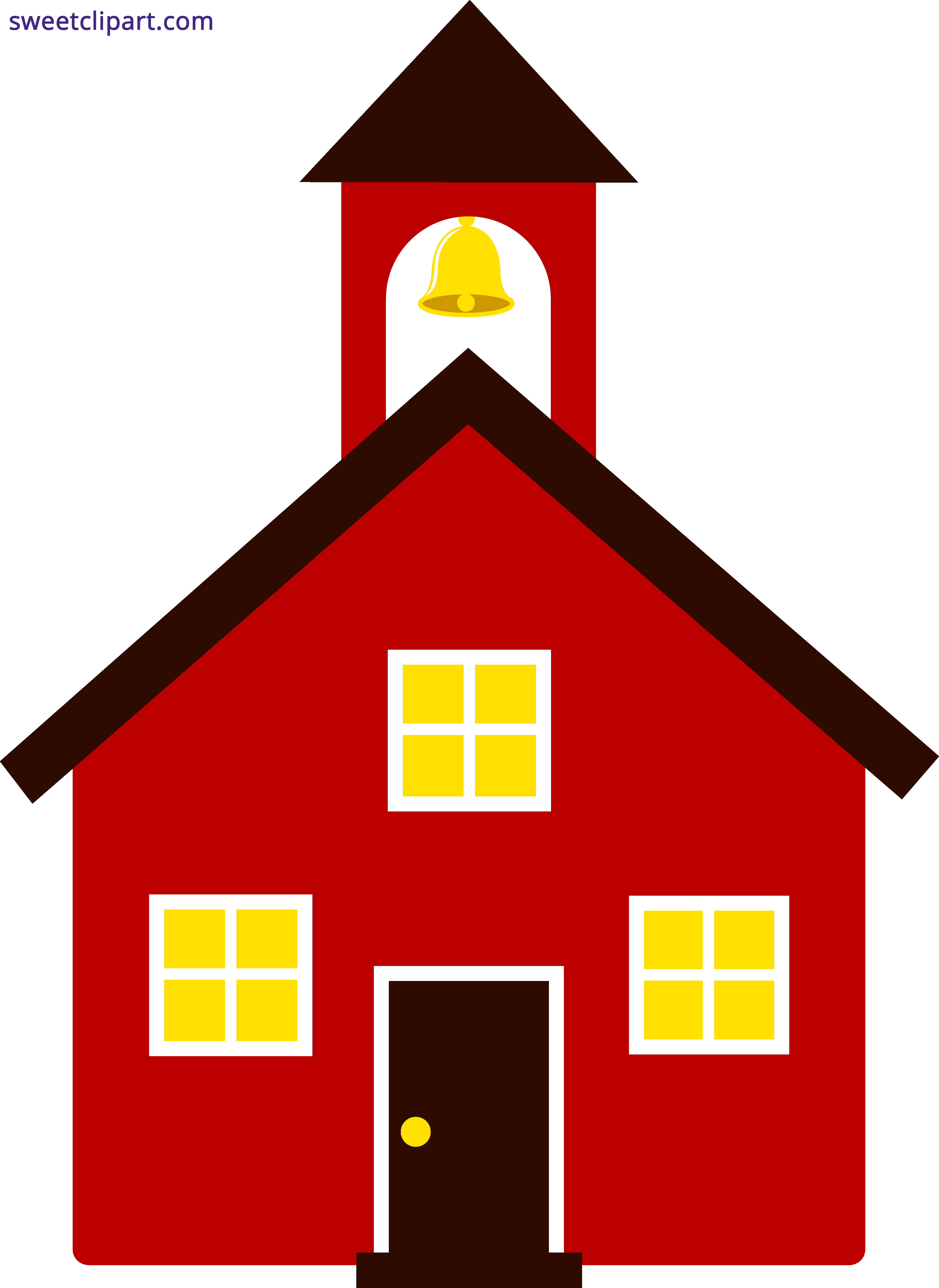 school house red clipart sweet clip art rh m sweetclipart com clipart of old school house clipart old fashioned school house