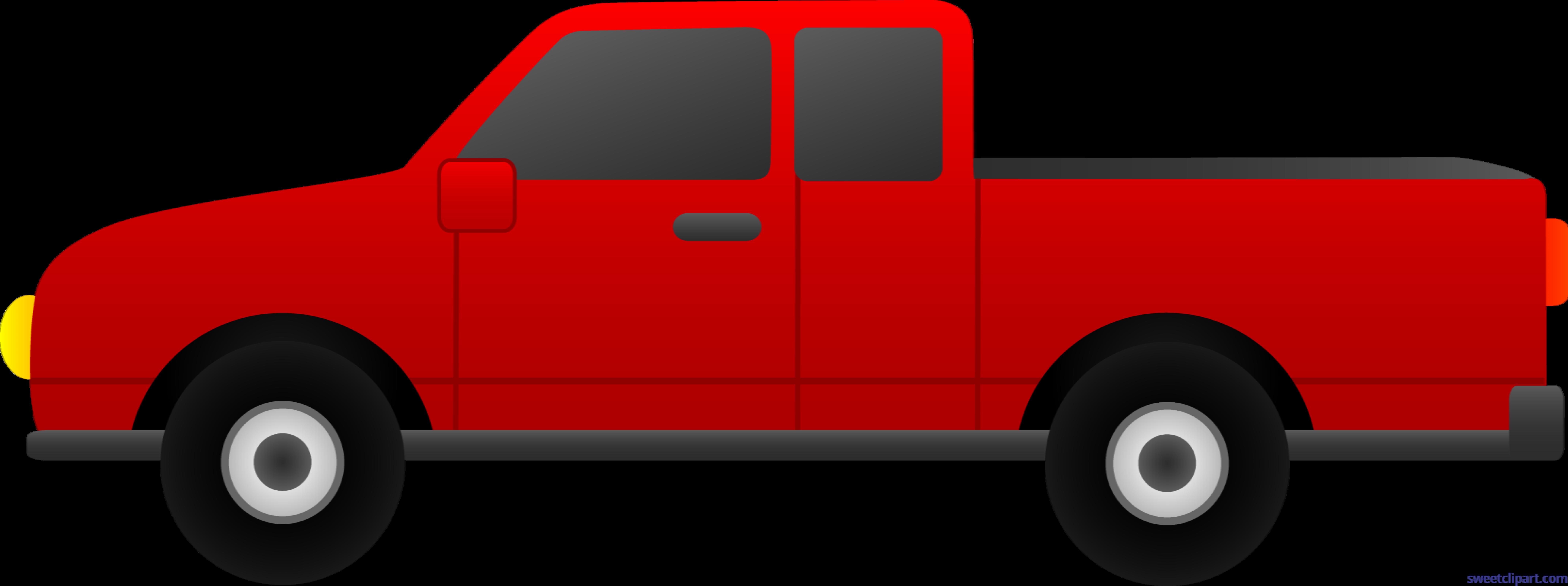 truck red clip art sweet clip art rh m sweetclipart com clipart trucks free download clipart truck driver