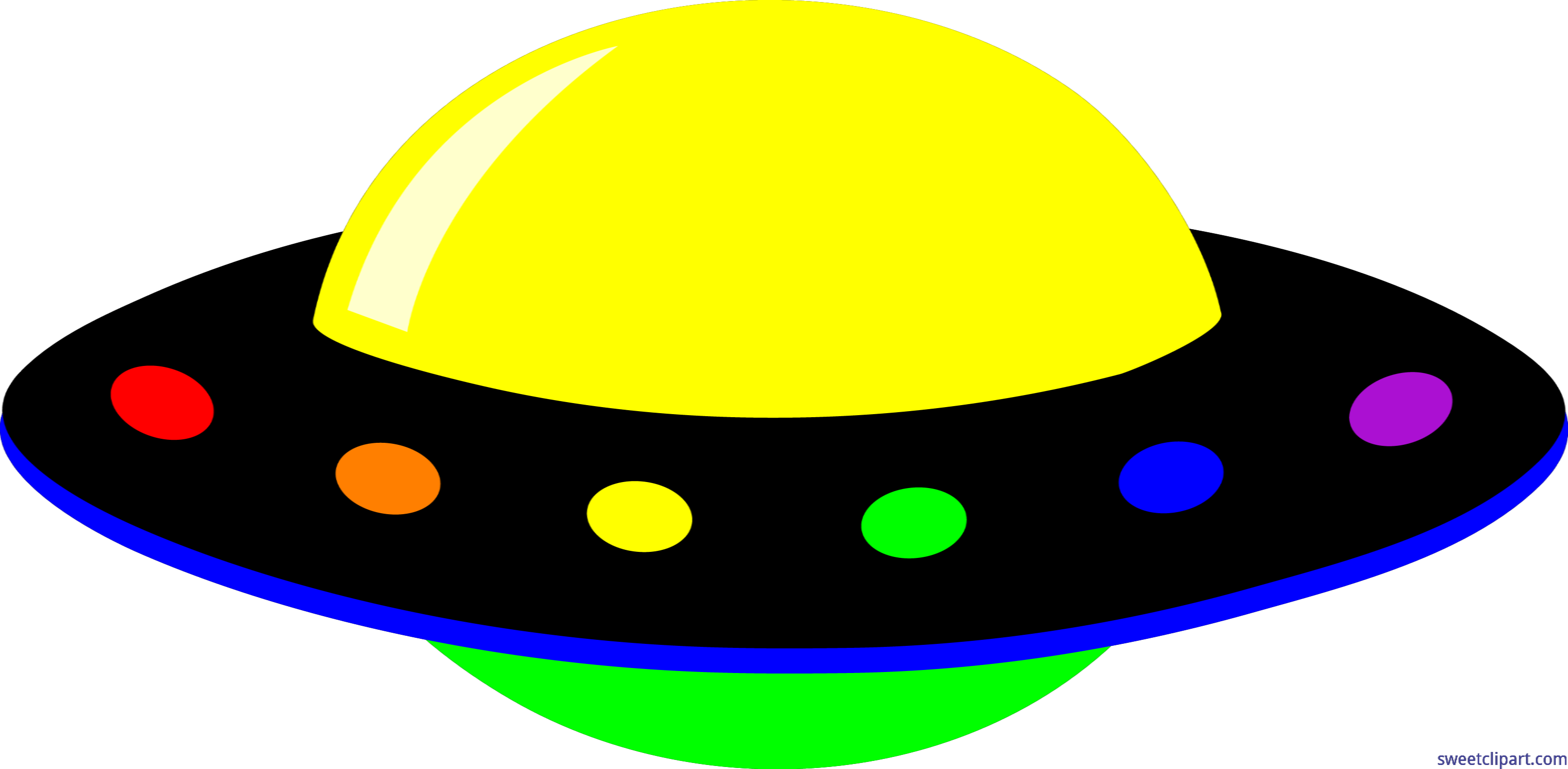 ufo neon rainbow clip art sweet clip art rh m sweetclipart com ufo clipart black and white ufo clipart black and white