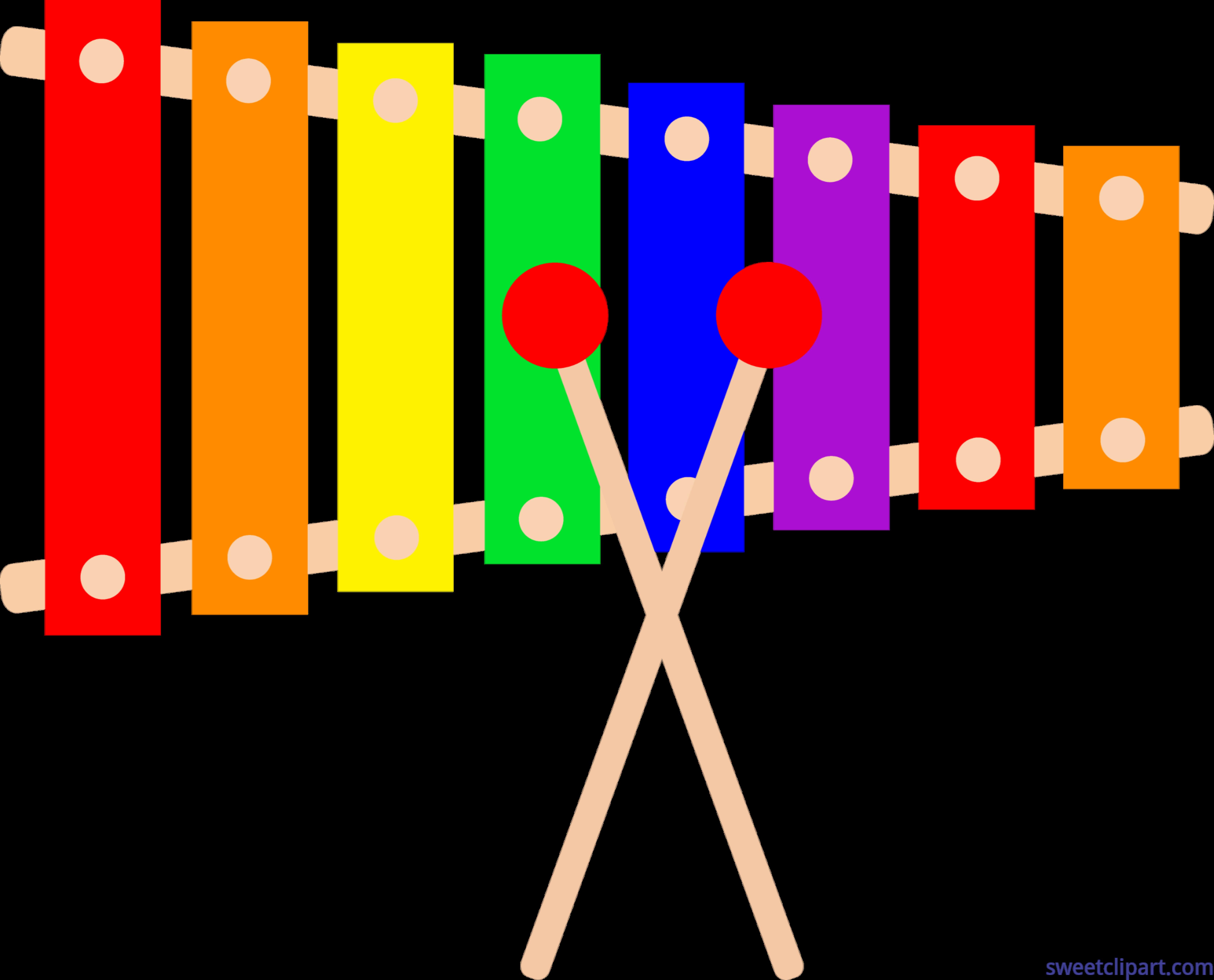 xylophone clip art sweet clip art rh m sweetclipart com Xylophone Clip Art Black and White xylophone clipart free